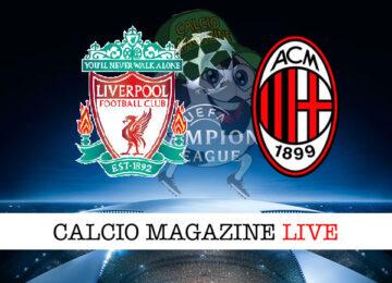 Liverpool Milan cronaca diretta live risultato in tempo reale