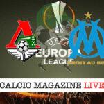 Lokomotiv Mosca Marsiglia cronaca diretta live risultato in tempo reale