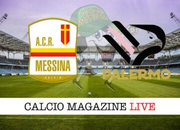 Messina Palermo cronaca diretta live risultato in tempo reale