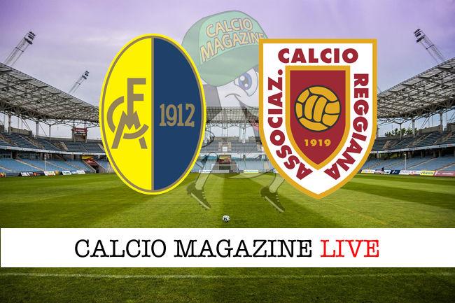 Modena Reggiana cronaca diretta live risultato in tempo reale