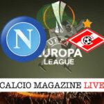 Napoli Spartak Mosca cronaca diretta live risultato in tempo reale