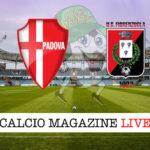 Padova Fiorenzuola cronaca diretta live risultato in tempo reale