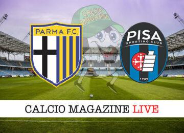 Parma Pisa cronaca diretta live risultato in tempo reale
