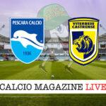 Pescara Viterbese cronaca diretta live risultato in tempo reale