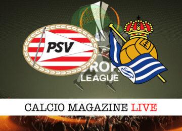PSV Real Sociedad cronaca diretta live risultato in tempo reale