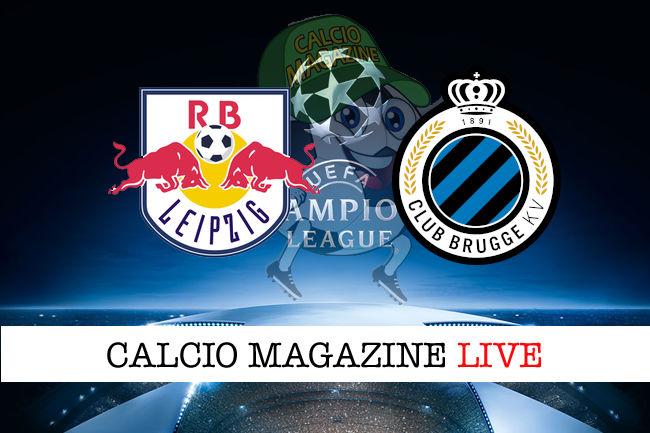 RB Lipsia Club Brugge cronaca diretta live risultato in tempo reale