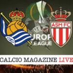 Real Sociedad Monaco cronaca diretta live risultato in tempo reale