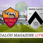 Roma Udinese cronaca diretta live risultato in tempo reale