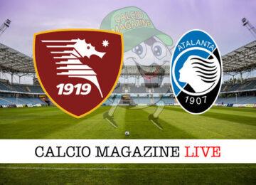Salernitana Atalanta cronaca diretta live risultato in tempo reale