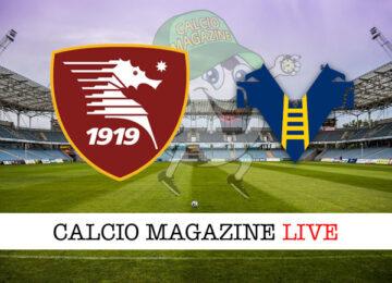 Salernitana Hellas Verona cronaca diretta live risultato in tempo reale
