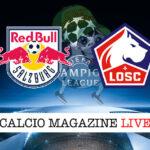 Salisburgo Lille cronaca diretta live risultato in tempo reale