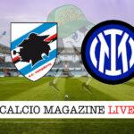 Sampdoria Inter cronaca diretta live risultato in tempo reale
