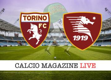 Torino Salernitana cronaca diretta live risultato in tempo reale