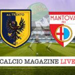 Trento Mantova cronaca diretta live risultato in tempo reale