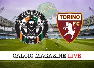 Venezia Torino cronaca diretta live risultato in tempo reale