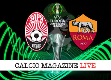 Zorya Roma cronaca diretta live risultato in tempo reale
