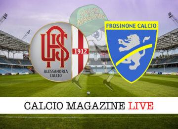Alessandria Frosinone cronaca diretta live risultato in tempo reale