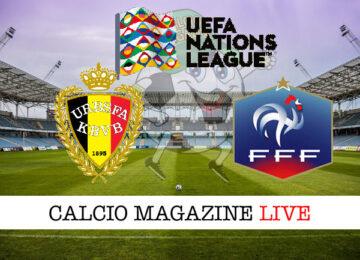 Belgio Francia cronaca diretta live risultato in tempo reale
