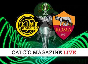 Bodo/Glimt Roma cronaca diretta live risultato in tempo reale