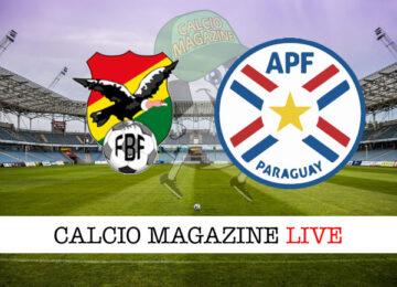 Bolivia Paraguay cronaca diretta live risultato in tempo reale