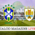 Brasile Uruguay cronaca diretta live risultato in tempo reale