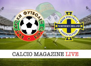 Bulgaria Irlanda del Nord cronaca diretta live risultato in tempo reale