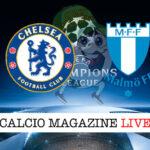 Chelsea Malmoe cronaca diretta live risultato in tempo reale