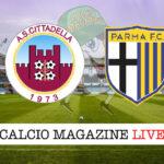 Cittadella Parma cronaca diretta live risultato in tempo reale