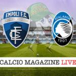 Empoli Atalanta cronaca diretta live risultato in tempo reale