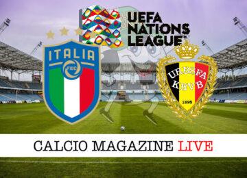 Italia Belgio cronaca diretta live risultato in tempo reale