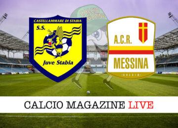Juve Stabia Messina cronaca diretta live risultato in tempo reale