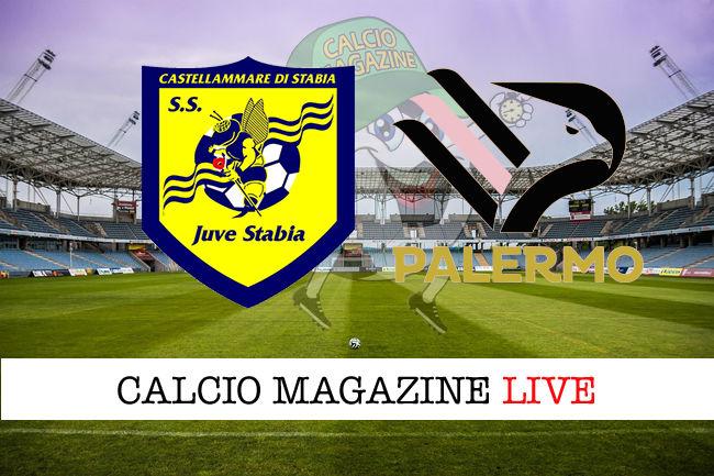 Juve Stabia Palermo cronaca diretta live risultato in tempo reale