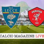 Lecce Perugia cronaca diretta live risultato in tempo reale