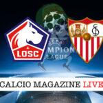 Lille Siviglia cronaca diretta live risultato in tempo reale