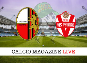 Lucchese Vis Pesaro cronaca diretta live risultato in tempo reale