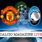 Manchester United Atalanta cronaca diretta live risultato in tempo reale