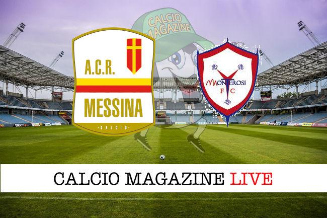 Messina Monterosi Tuscia cronaca diretta live risultato in tempo reale