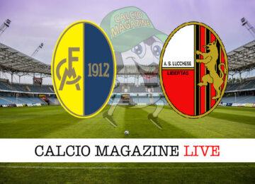 Modena Lucchese cronaca diretta live risultato in tempo reale