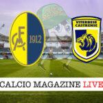 Modena Viterbese cronaca diretta live risultato in tempo reale