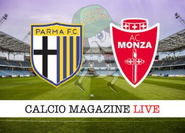 Parma Monza cronaca diretta live risultato in tempo reale