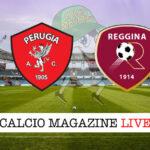 Perugia Reggina cronaca diretta live risultato in tempo reale