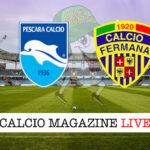 Pescara Fermana cronaca diretta live risultato in tempo reale