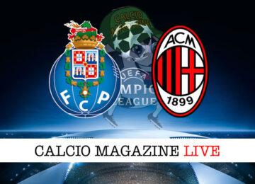 Porto Milan cronaca diretta live risultato in tempo reale