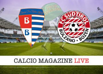 Pro Patria Sudtirol cronaca diretta live risultato in tempo reale