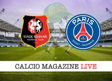 Rennes PSG cronaca diretta live risultato in tempo reale
