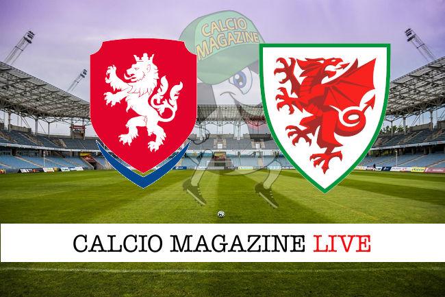 Repubblica Ceca Galles cronaca diretta live risultato in tempo reale