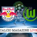 Salisburgo Wolfsburg cronaca diretta live risultato in tempo reale