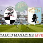Siena Virtus Entella cronaca diretta live risultato in tempo reale