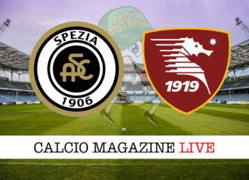 Spezia Salernitana cronaca diretta live risultato in tempo reale