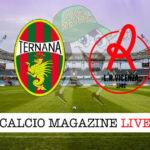 Ternana Vicenza cronaca diretta live risultato in tempo reale